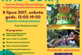 Plakat VII Piknik Rodzinny nad Odrą
